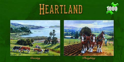 Ron Gribble Heartland series of Jigsaw puzzles