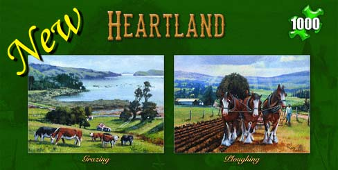 Ron Gribble Heartland Series Jigsaw Puzzles